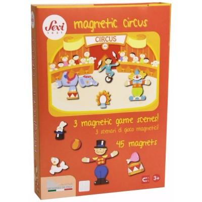 Caja magnética del circo