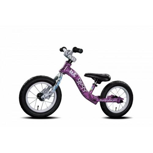 Bicicleta de balance - Lila Blanco disponible en: www.happyeureka.com