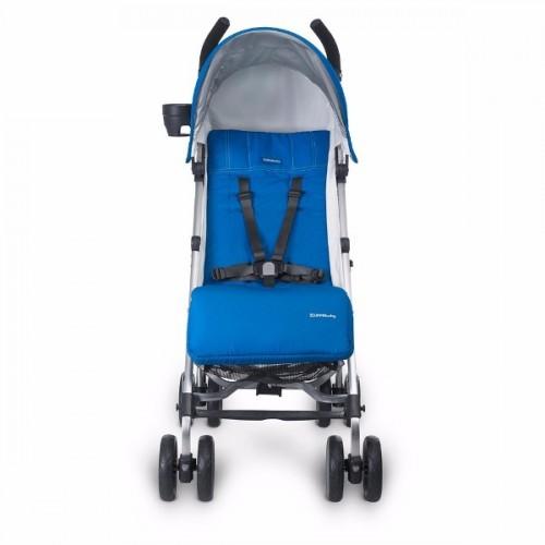 Coche paseador G-Luxe azul disponible en: www.happyeureka.com