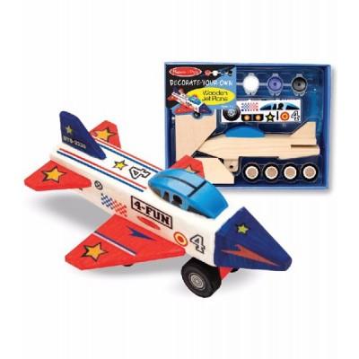 Kit de arte - Avión de madera
