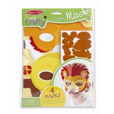 Máscaras de animales salvajes