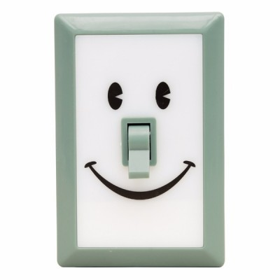 Linterna switch sonrisas verde menta