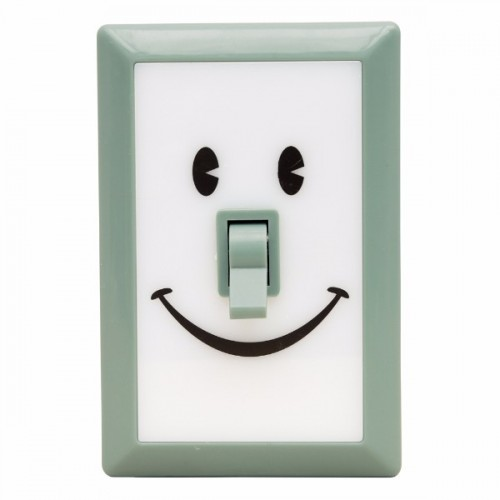 Linterna switch sonrisas verde menta disponible en: www.happyeureka.com