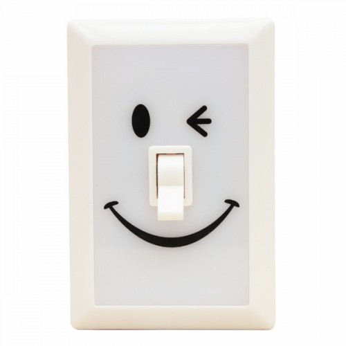 Linterna switch sonrisas beige disponible en: www.happyeureka.com