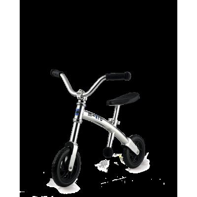 Micro G bike plateada