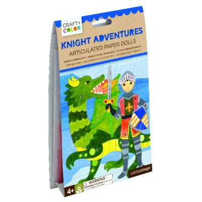 Knight adventures paper dolls craft y co