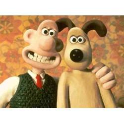 Wallace & Gromit, la genial creación de Clay-Motion por Nick Park