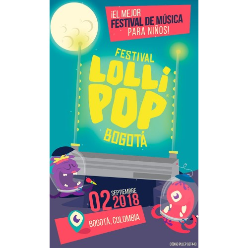 Boleta - Evento Lollipop - Promoción x 3 - Unitario disponible en www.happyeureka.com