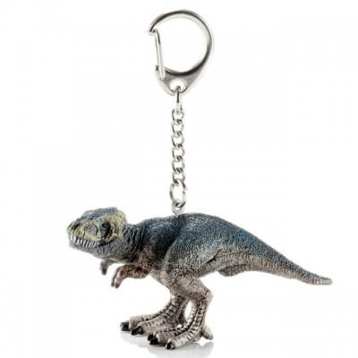 Llavero de dinosaurio T-rex