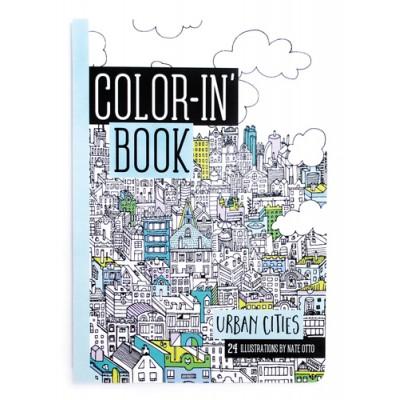 Libro para colorerar - Ciudades