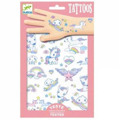 Tatuaje de unicornios