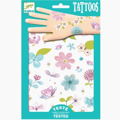 Tatuajes flores silvestres