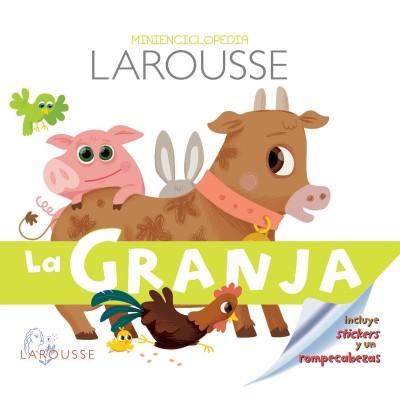 Minienciclopedia larousse la granja - libro para niños