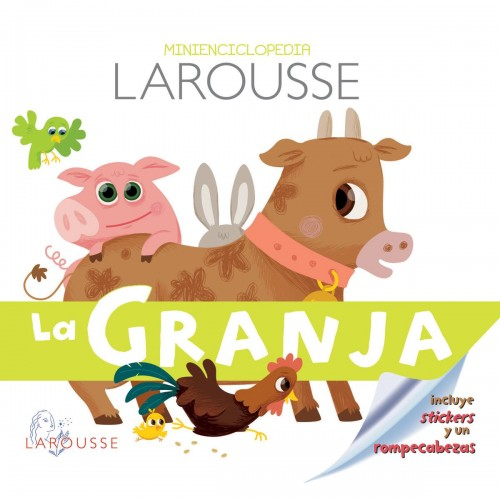 Minienciclopedia larousse la granja - libro para niños disponible en: www.happyeureka.com