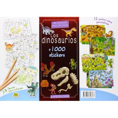 Mis escenas para decorar los dinosaurios - libro para niños