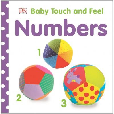 Libro de texturas para bebés - Los números
