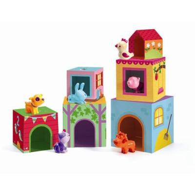 Cubos para niños - La granja