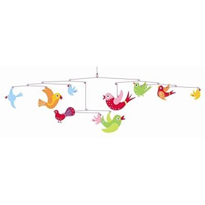 Móvil - Las aves de colores