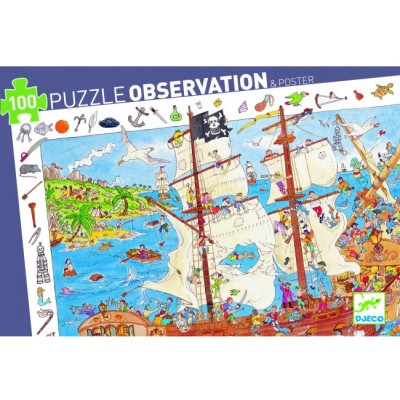 Observation puzzle pirates