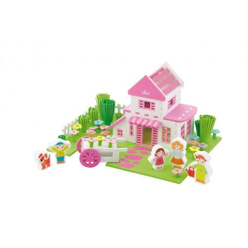 Casa de muñecas para armar disponible en: www.happyeureka.com