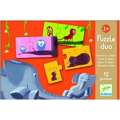 Puzzle duo mom and baby