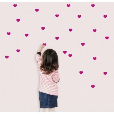 Vinilo decorativo - Mini corazones