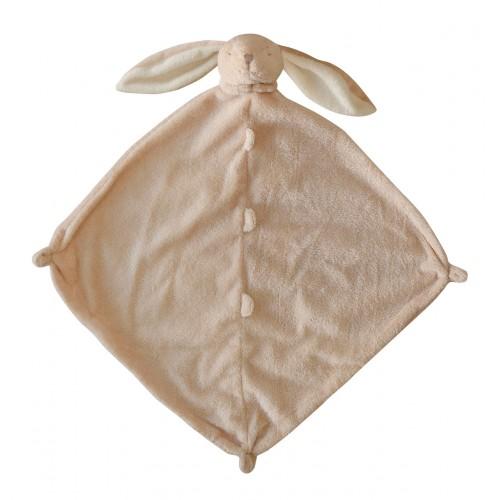 Cobija de apego para bebé - Conejo beige disponible en: www.happyeureka.com