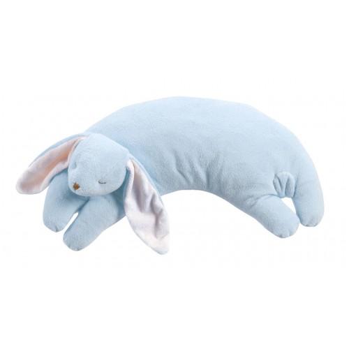 Almohada para bebé - Conejo azul disponible en: www.happyeureka.com