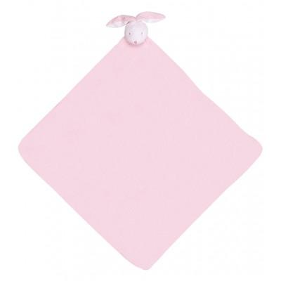 Cobija para bebé - Conejo rosado