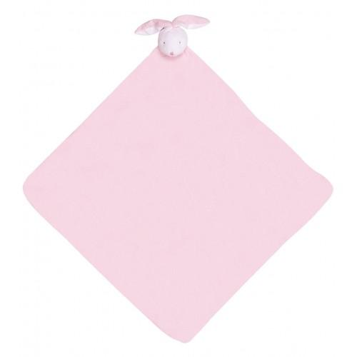 Cobija para bebé - Conejo rosado disponible en: www.happyeureka.com