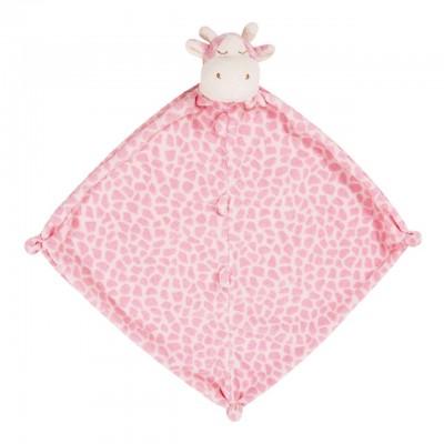 Pink giraffe blankie
