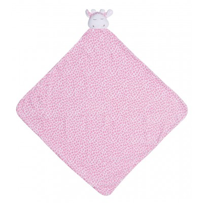 Cobija para bebé - Jirafa rosada