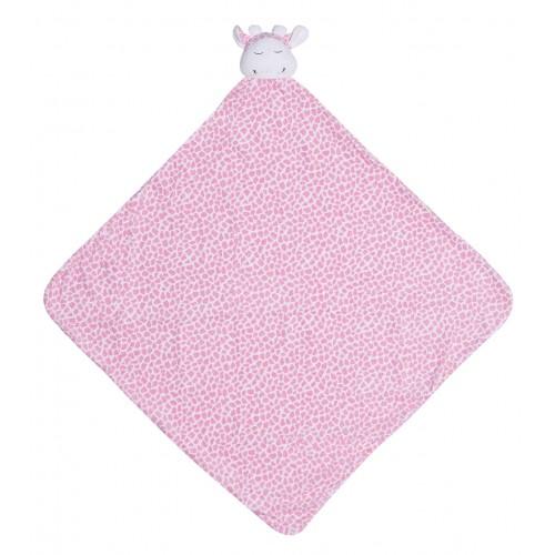 Cobija para bebé - Jirafa rosada disponible en: www.happyeureka.com