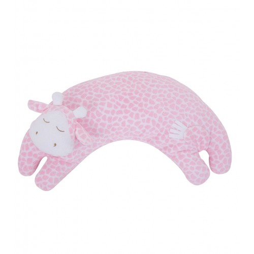 Almohada para bebé - Jirafa rosada disponible en: www.happyeureka.com