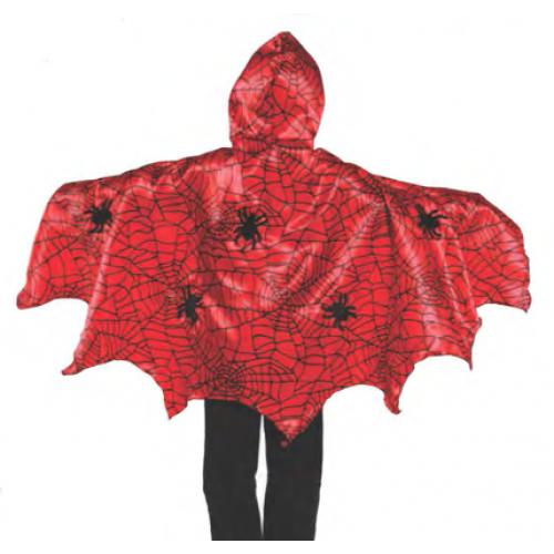 Capa spider - disfraz para niños disponible en: www.happyeureka.com