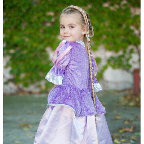 Princess braid mona - disfraz para niñas disponible en: www.happyeureka.com
