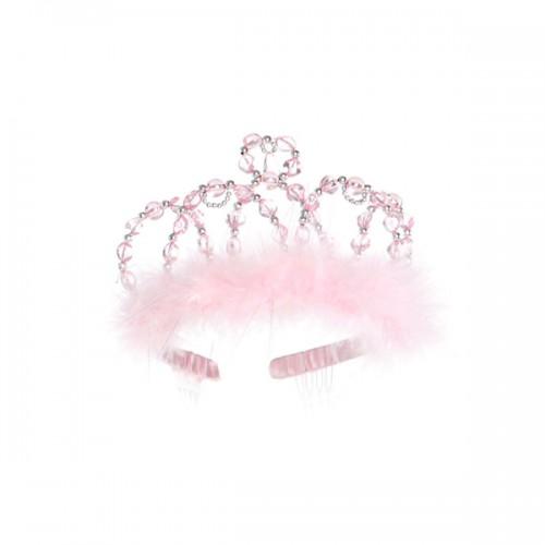 Princess tiara pink/silver - tiara para niñas disponible en: www.happyeureka.com