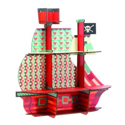 Repisa - Barco pirata
