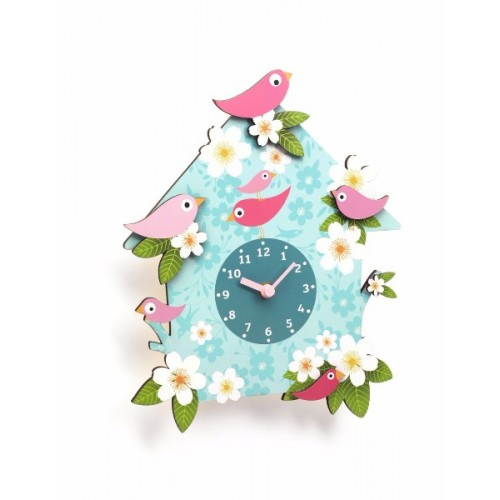 HORLOGE - CHARLOTTE CLOCK disponible en: www.happyeureka.com