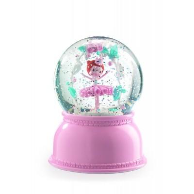 Lámpara en globo de nieve - Bailarina