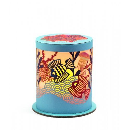 Mini lámpara - El océano disponible en: www.happyeureka.com
