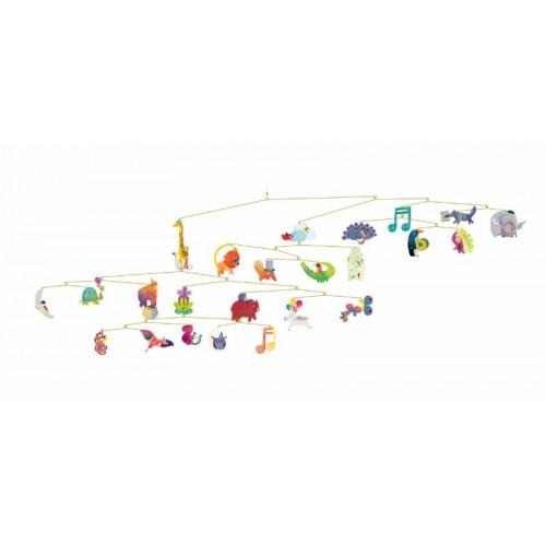 Móvil - El carnaval de los animales disponible en: www.happyeureka.com