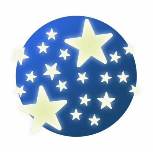 Stickers que brillan en la oscuridad - Las estrellas disponible en: www.happyeureka.com