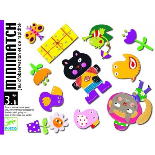 Juego de cartas - Minimatch disponible en: www.happyeureka.com