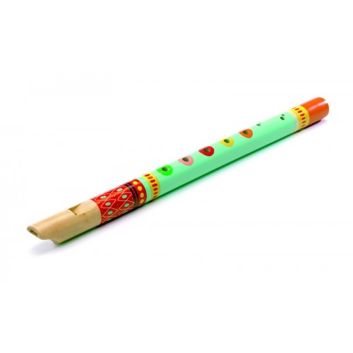 Flauta de madera - Animambo disponible en: www.happyeureka.com