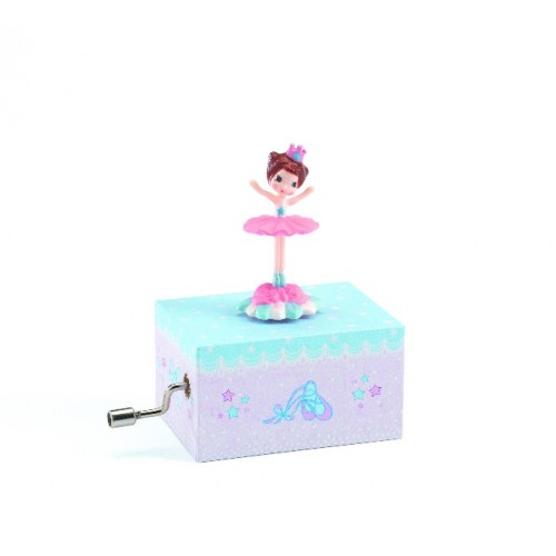Caja musical - La bailarina disponible en: www.happyeureka.com