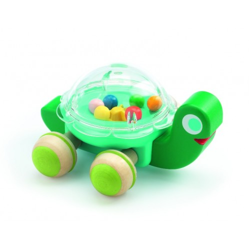 Juguete para halar - La tortuga Lola disponible en: www.happyeureka.com