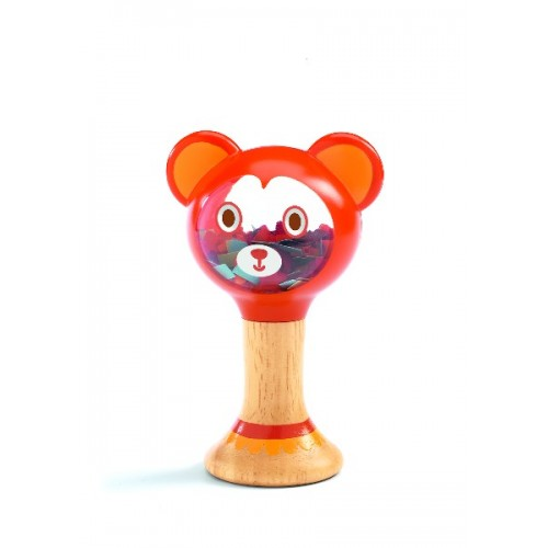 Oso sonajero disponible en: www.happyeureka.com