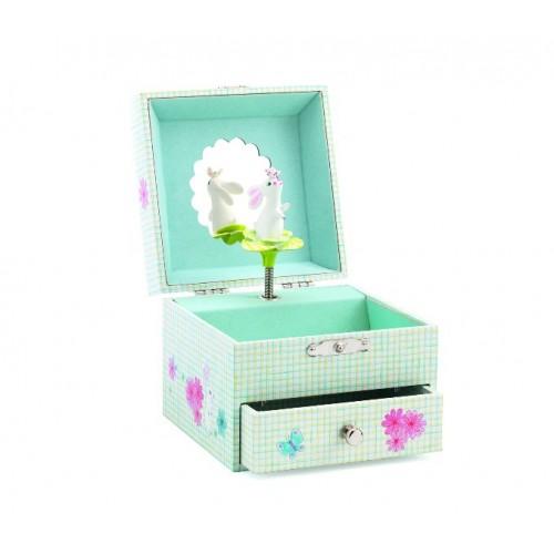 Caja musical - El dulce conejito disponible en: www.happyeureka.com