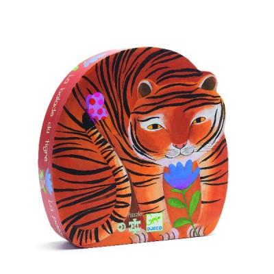 Rompecabezas de silueta - Los tigres